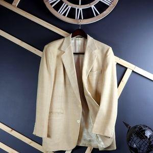 Haggar Premium Edition Imperial 100% Silk Blazer